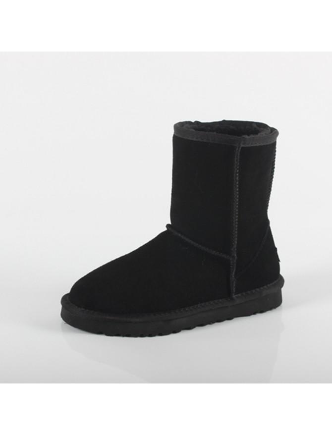 Ugg Lo A Loco Bota Tipo Negro Con Pelo Tacones Y A4RjLqS3c5